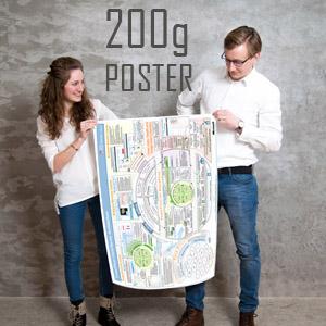 Foto Poster B1 papír 200g