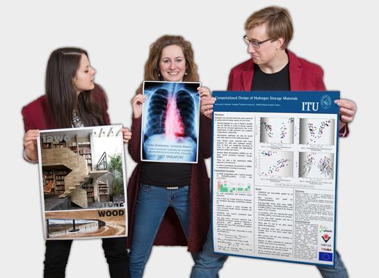 Tiskneme pro vědce, studenty i organizace